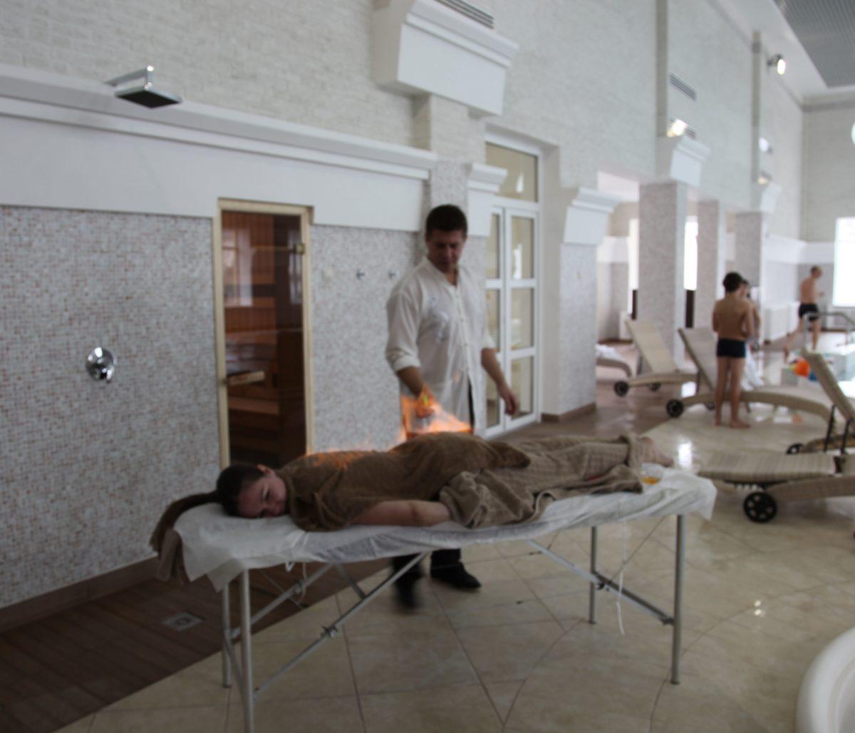 Мастеркласс массаж огнем