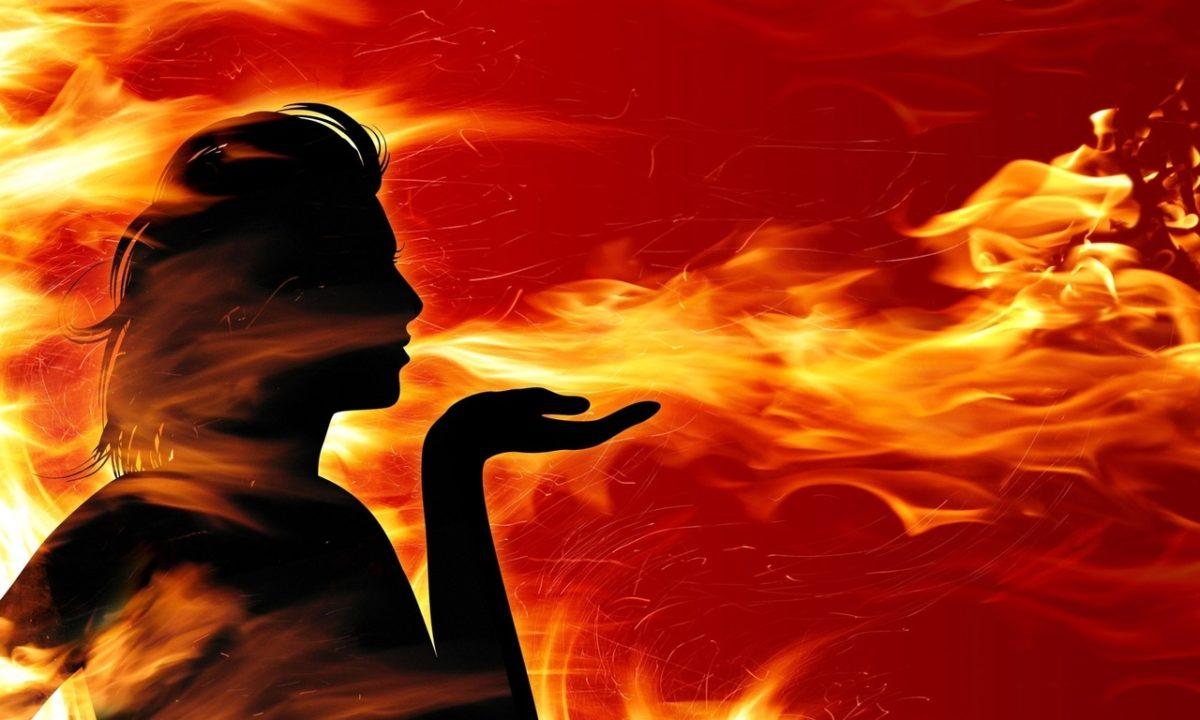 Огненный массаж или массаж огнем